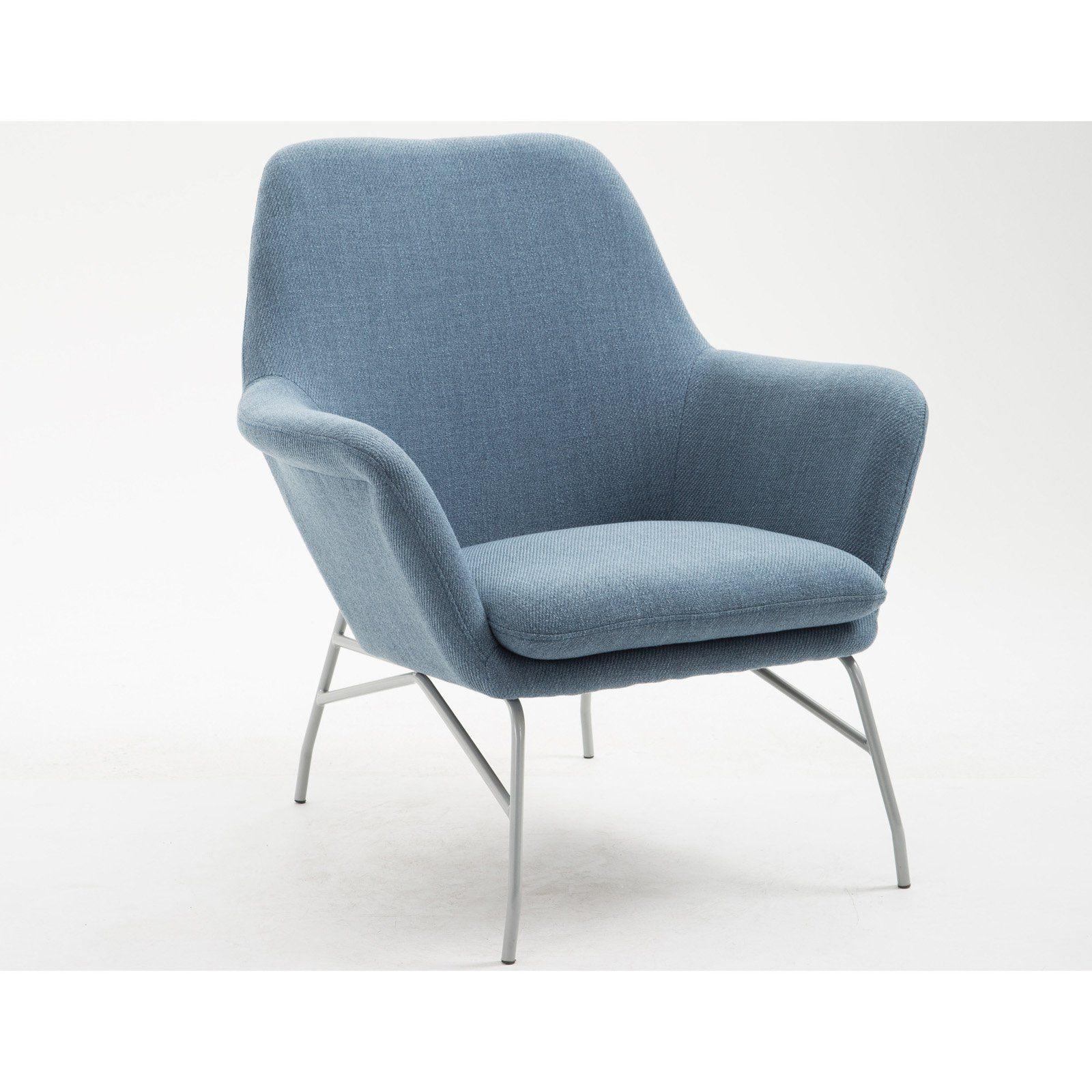 Best Emerald Home Essex Uptown Accent Chair Uptown Denim In 400 x 300