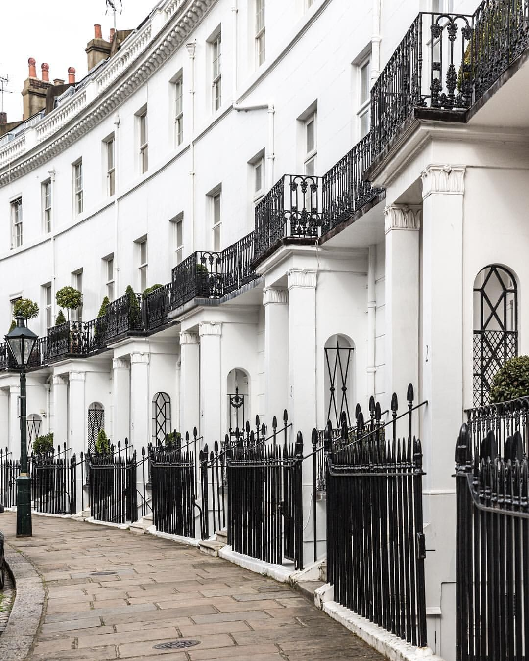 Houses In South Kensington, London. Oh One Of My Places In