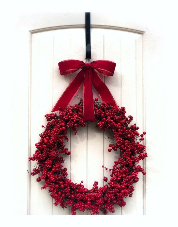 Christmas Business Decorations.Double Extra Large Christmas Wreath Holiday Wreaths