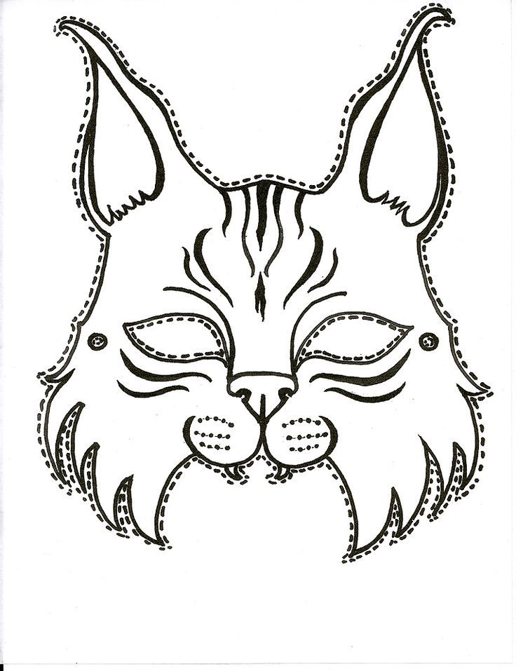 Pin by Georgia College on Bobcat Pride ΜΑΣΚΕΣ-masks Pinterest - face masks templates