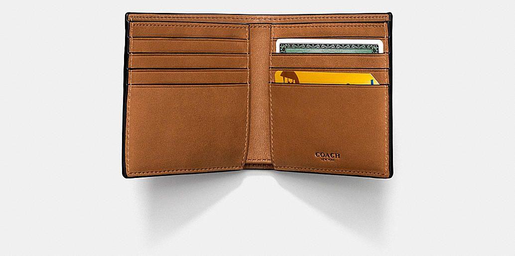 Double Billfold Wallet in Sport Calf Leather - Alternate View L1