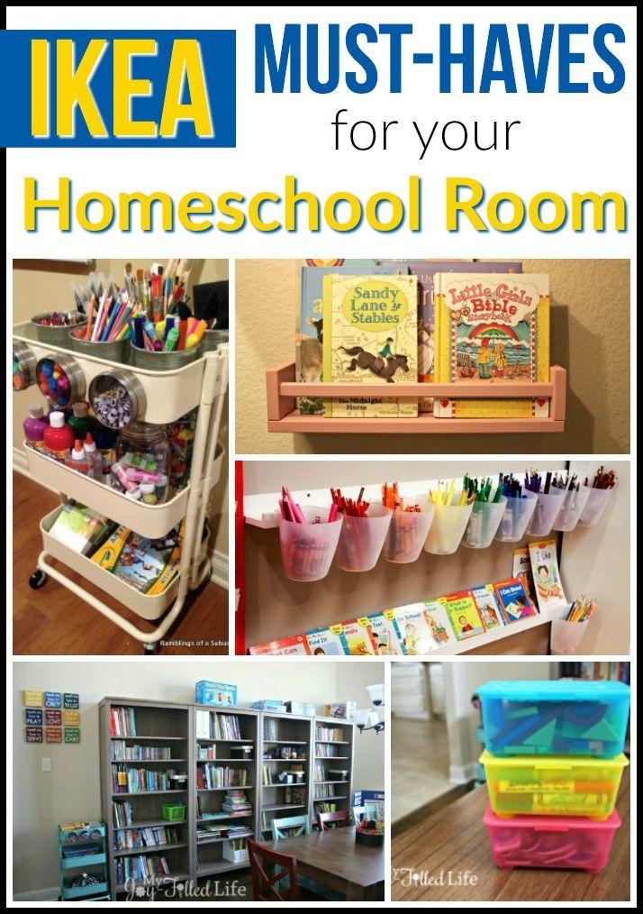 Ikea Must Haves For Your Homeschool Room My Joy Filled Life Homeschool Room Design Homeschool Rooms Homeschool Room Organization