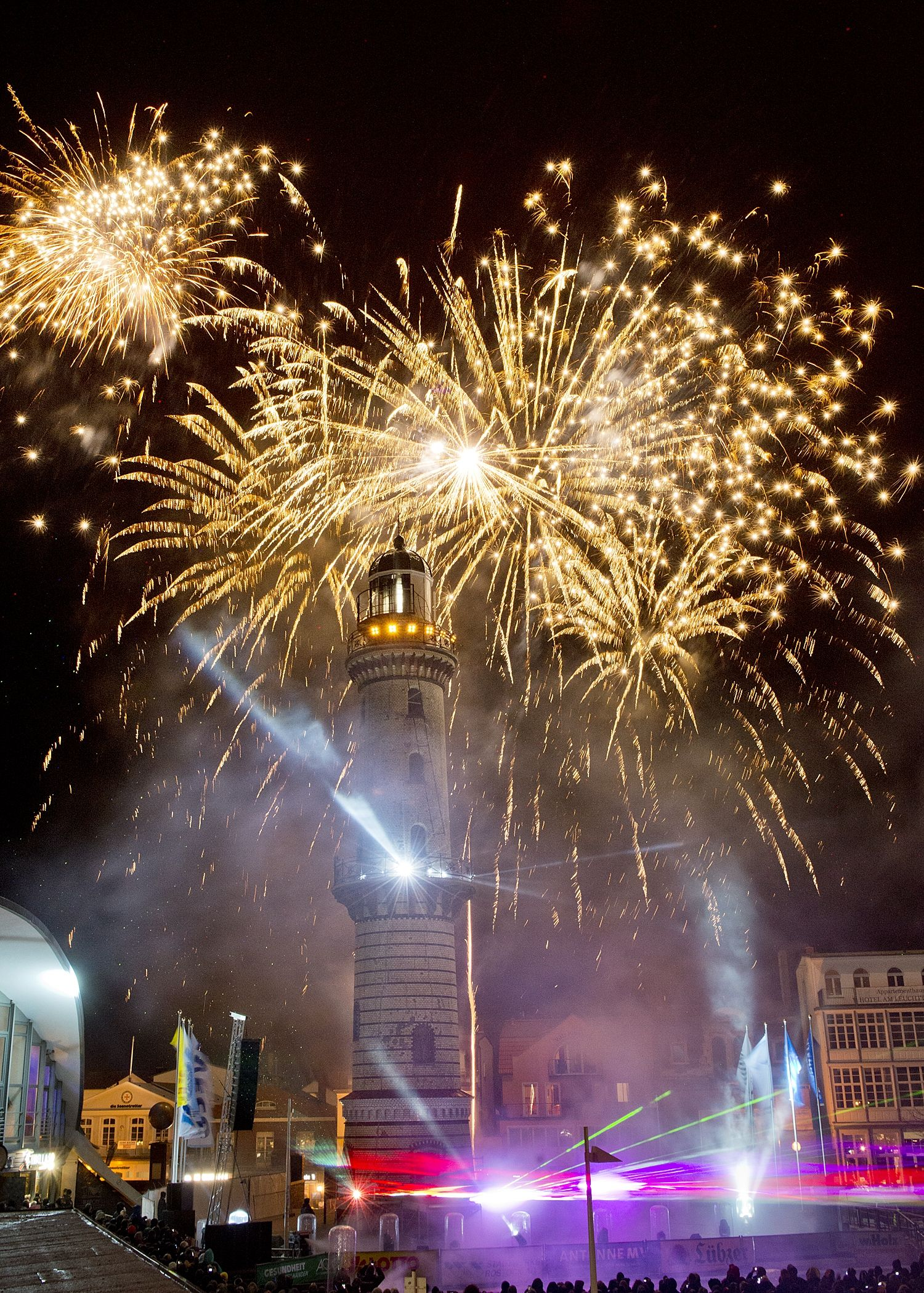 Leuchtturm In Flammen 2021