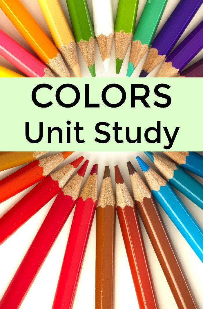 Photo of Preschool Books About Colors (Unit Study) | Mommy Evolution