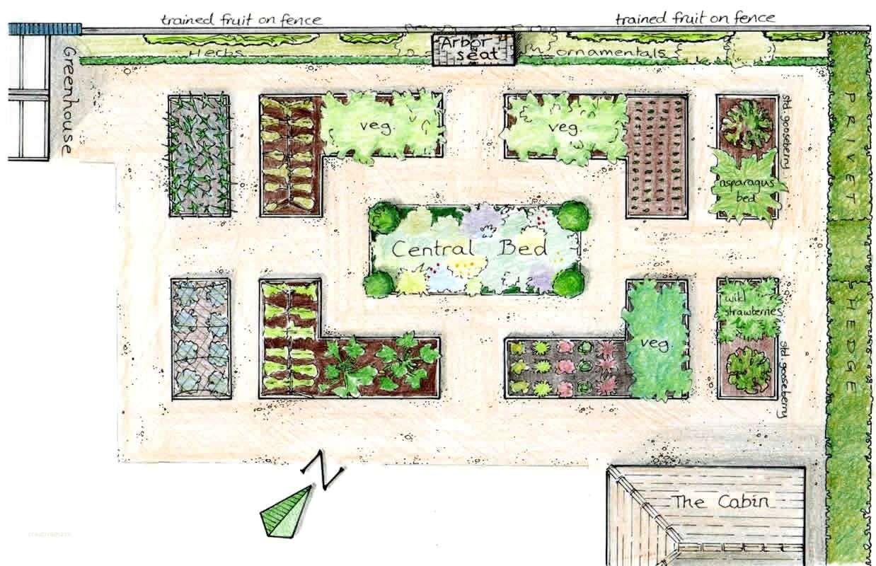 Garden Design Graph Paper