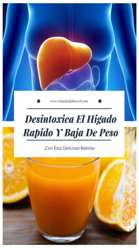 Como Desintoxicar El Hígado Rápido Y Bajar De Peso Sanamente - Diariamente Dominicano