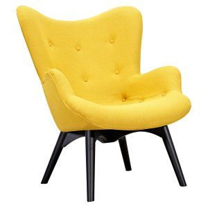yellow accent chairs on hayneedle - yellow living room chairs