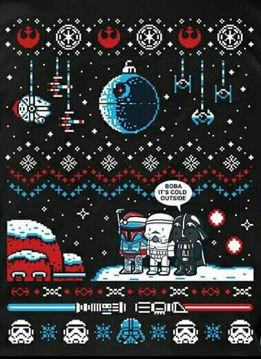Boba It S Cold Outside Star Wars Art Star Wars Christmas Star Wars Love