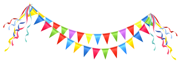 Transparent Party Streamer Png Clipart Picture Party Streamers Colorful Birthday Party Free Clip Art