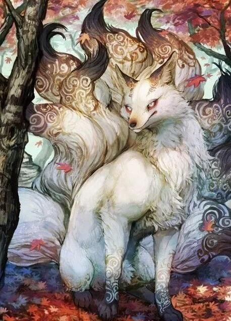 According to Japanese folklore, all foxes have the ability to shapeshift into human form.