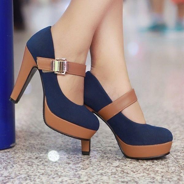 size 4.5 black heels