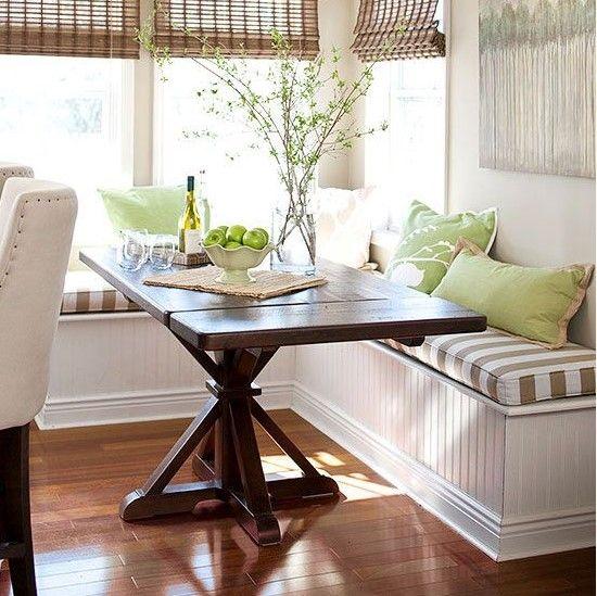 Corner Breakfast Nook Bench Ideas Banquette Seating In Kitchen