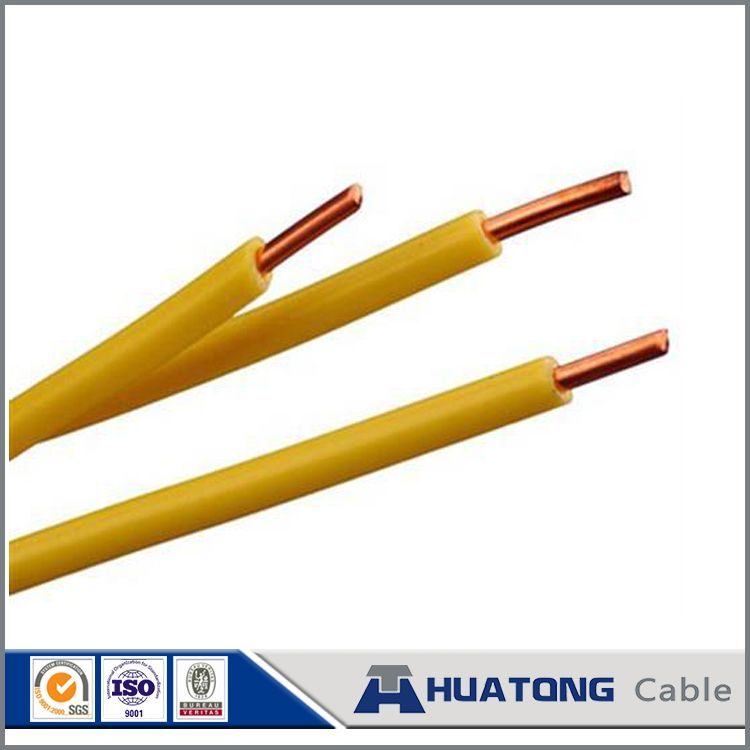 2.5mm 1000V PVC insulated copper wire , electrical house wire ...