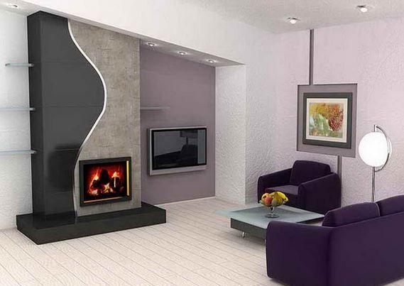 Chimeneas el ctricas modernas ideas para el hogar en for Casa moderna kw