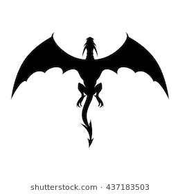Dragon Silhouette Images Stock Photos Vectors Shutterstock Download Free Best Quality On Clipart Email Dragon Silhouette Dragon Images Silhouette Art