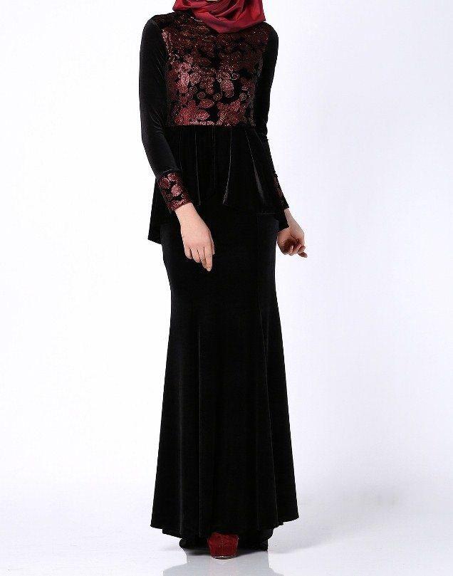 00c1b3017 ازياء #محجبات أرقى الفساتين للخطوبة بكم طويل مناسبة للمحجبات | موضة ...