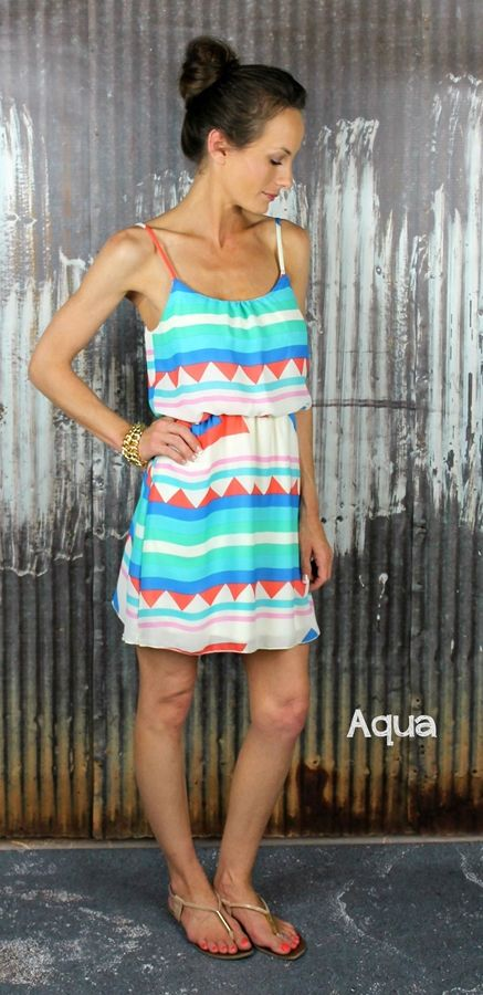 Geometric Summer Dress – 3 Colors! | Very Jane