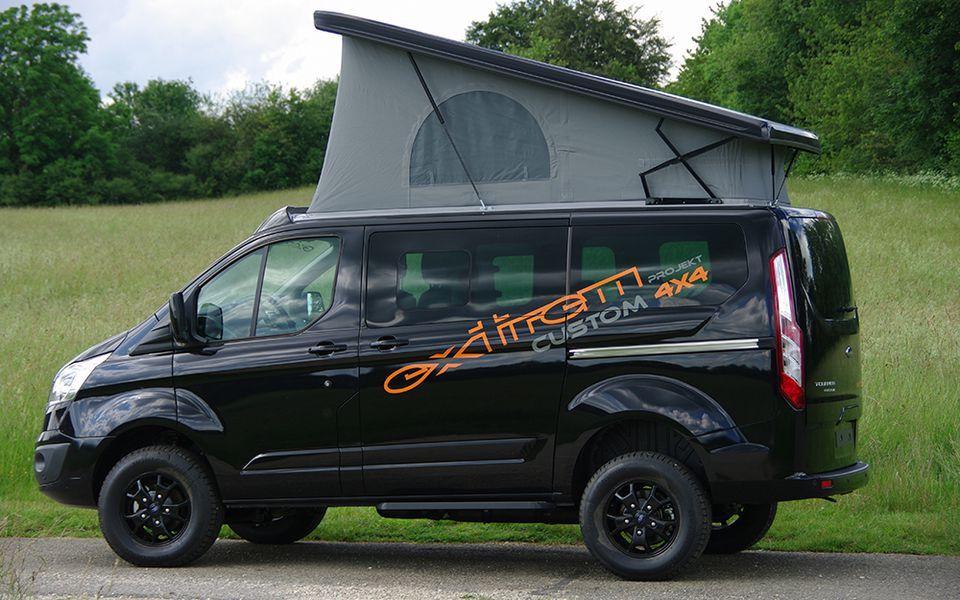 ford tourneo custom 4x4 allrad sca bauen pinterest 4x4 ford and. Black Bedroom Furniture Sets. Home Design Ideas