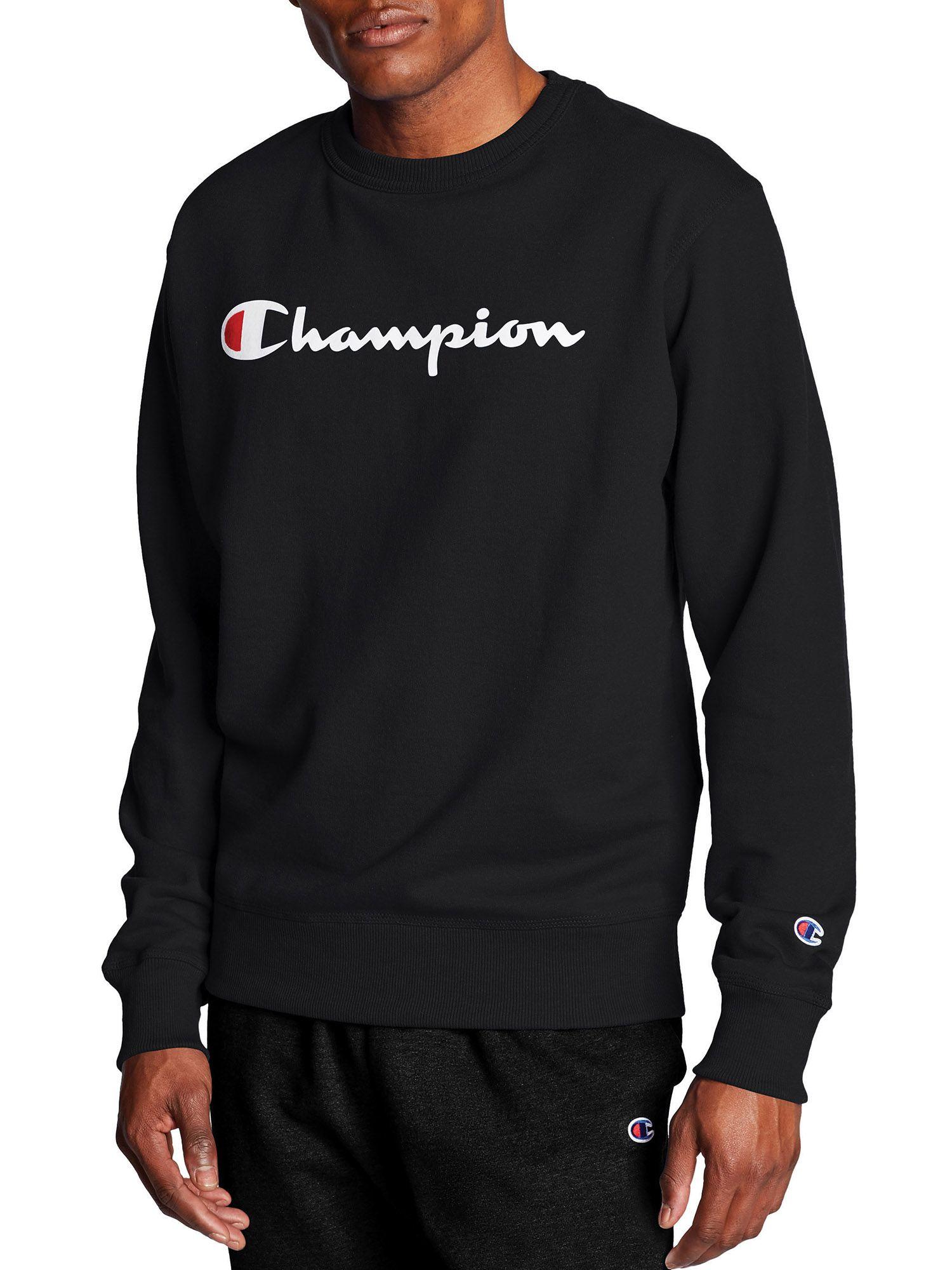 Champion Champion Men S Powerblend Graphic Crew Sweatshirt Walmart Com Graphic Crewneck Sweatshirt Sweatshirts Graphic Crew Neck Sweatshirts [ 2000 x 1500 Pixel ]