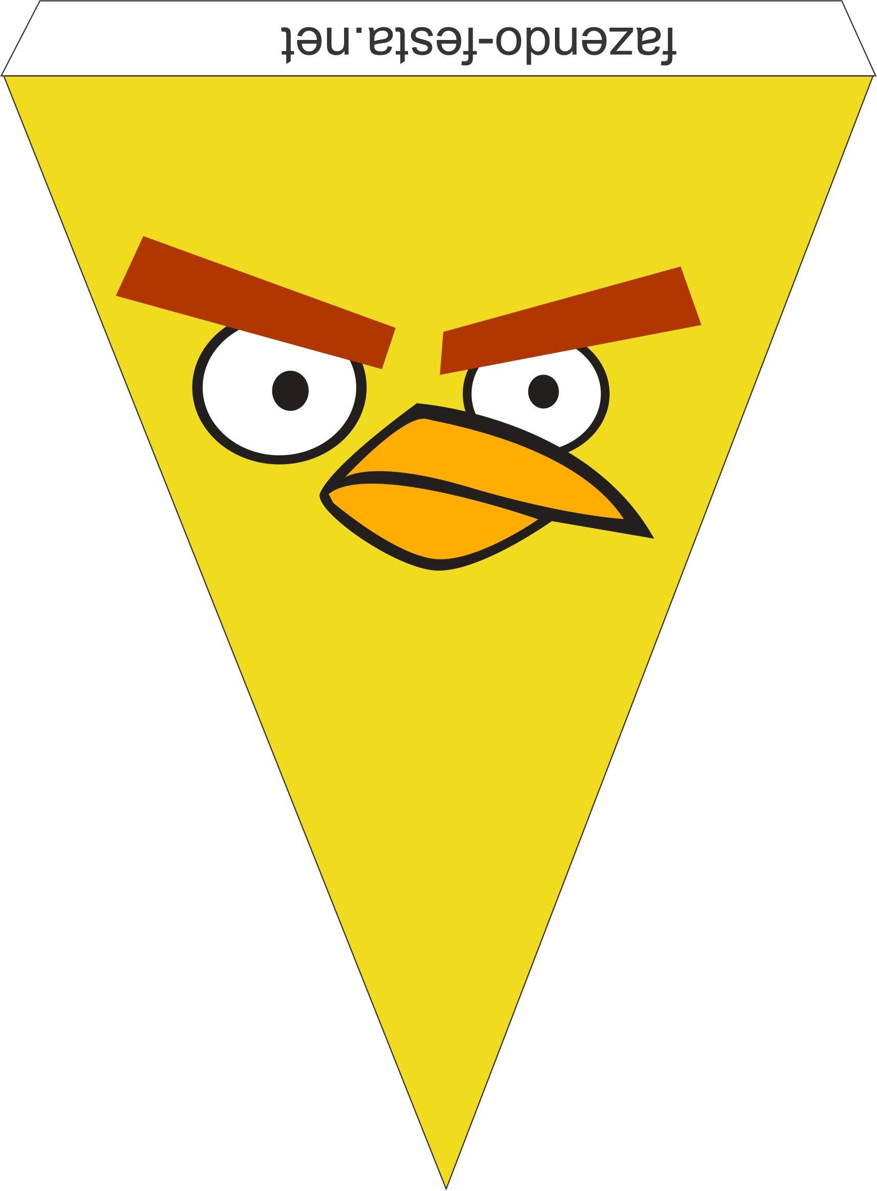 Kit De Angry Birds Para Imprimir Gratis