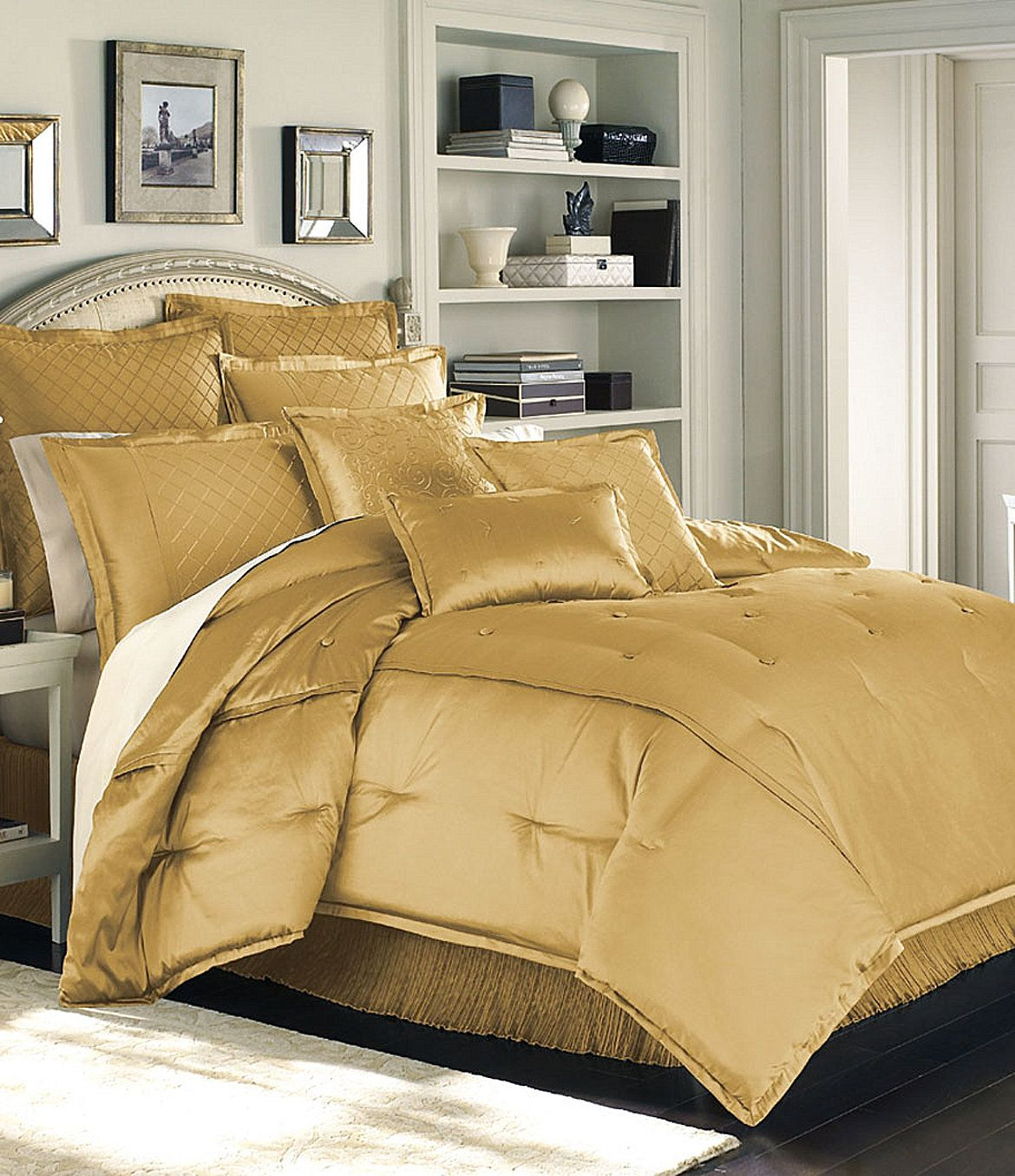 Luxury Hotel Quot Valmont Quot Gold Bedding Collection Dillards