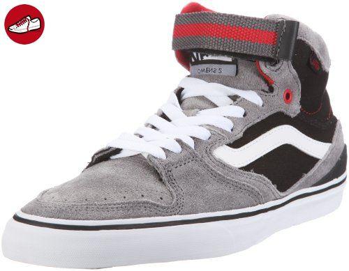 Vans Owens Hi 2 VL3JGBR, Herren Sneaker, Grau (grey/black/red