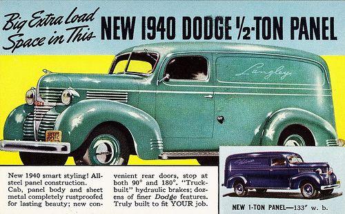 1940 Dodge 1/2-Ton Panel Truck   by aldenjewell