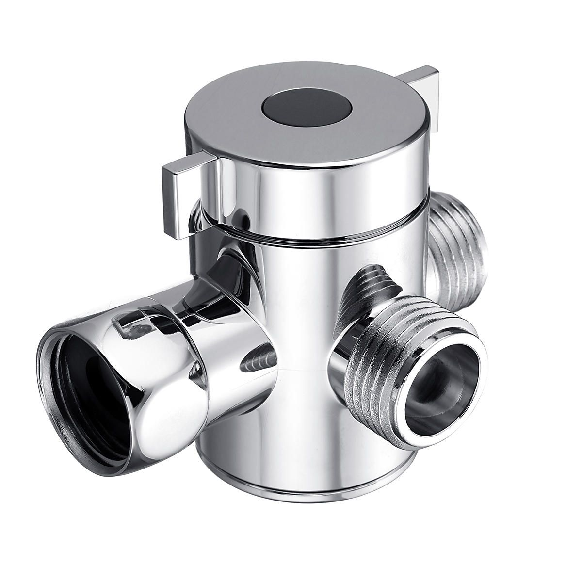 Multifunction 3 Way Shower Head Diverter Valve G1 2 Three