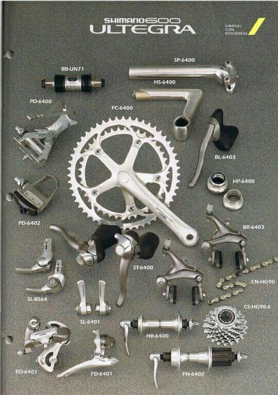 3e62e544ab6 Shimano 600 Ultegra | Bike Accessories | Bike accessories, Road ...