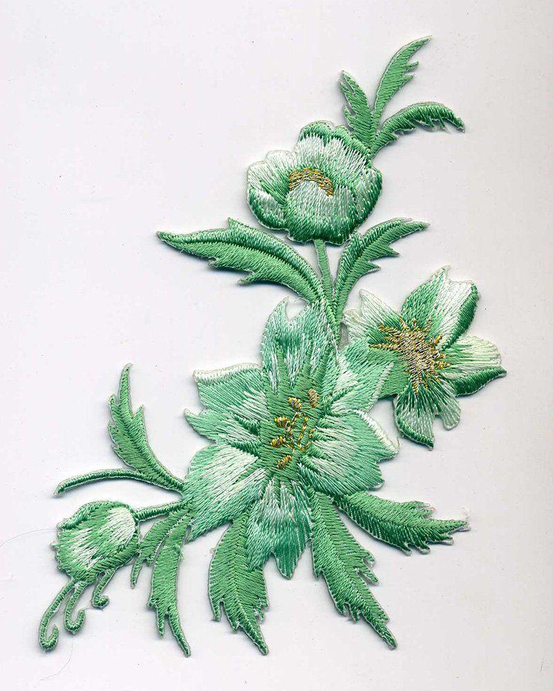 Grande Fleur Verte Pinterest Embroidery And Creative