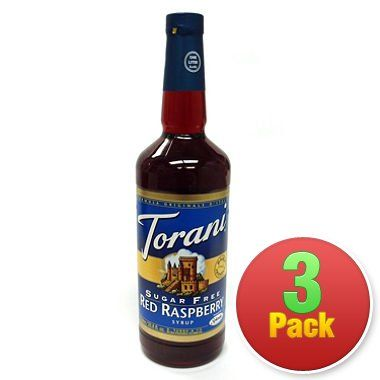 Torani 3 Pack Sugar Free Red Raspberry >>> Special offer just for you. : Baking supplies