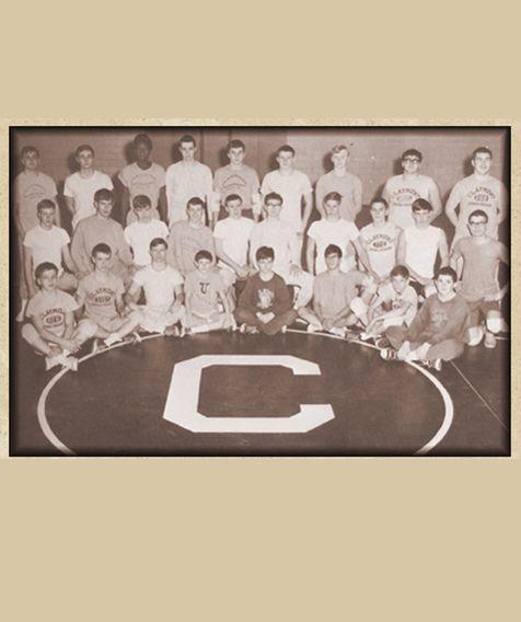 #Rareimages 1968-1969 claymont wrestling team
