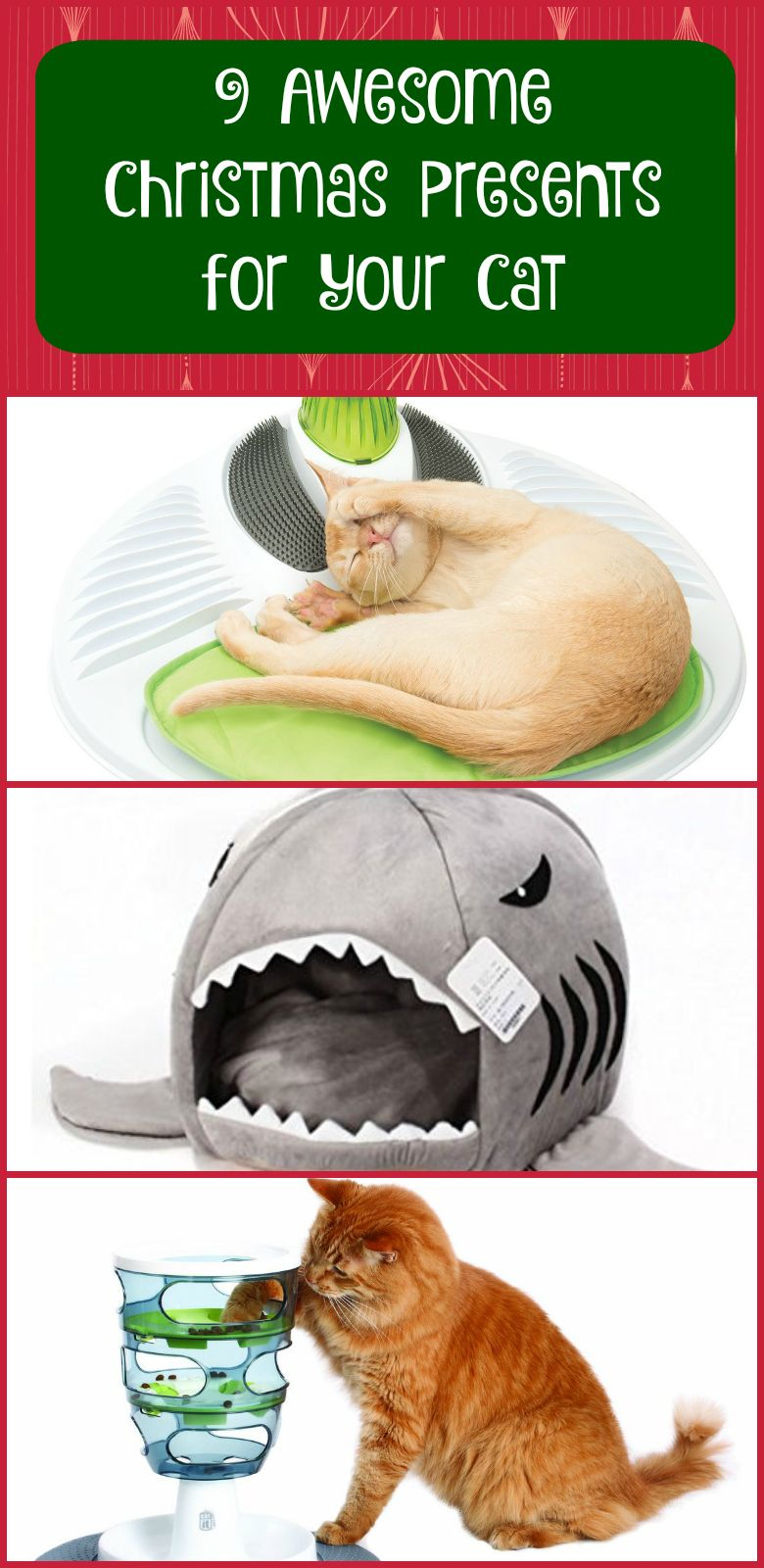 Here Are Nine Awesome Christmas Presents For Your Cat Give Your Feline Friend A Great Gift This Christmas Presents For Cats Cat Christmas Gift Christmas Cats