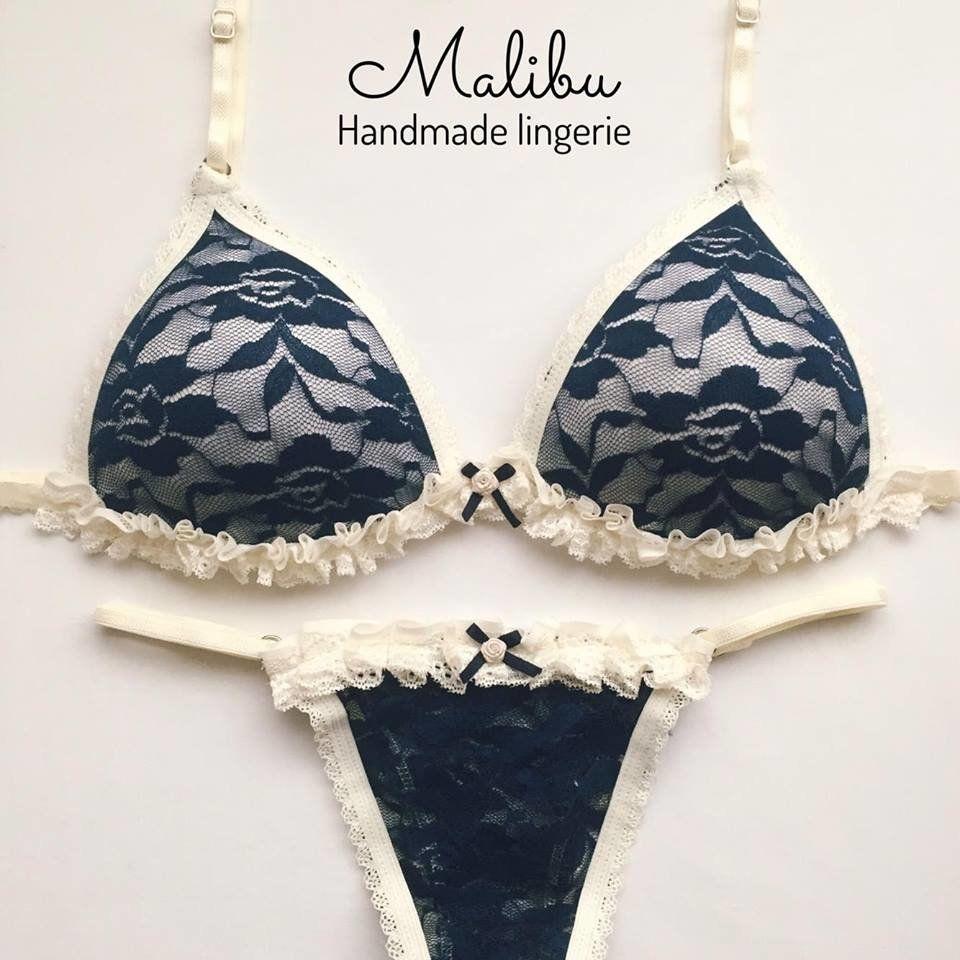 1b6f9d4c6 olivia azul marino• - Comprar en Malibu Lingerie