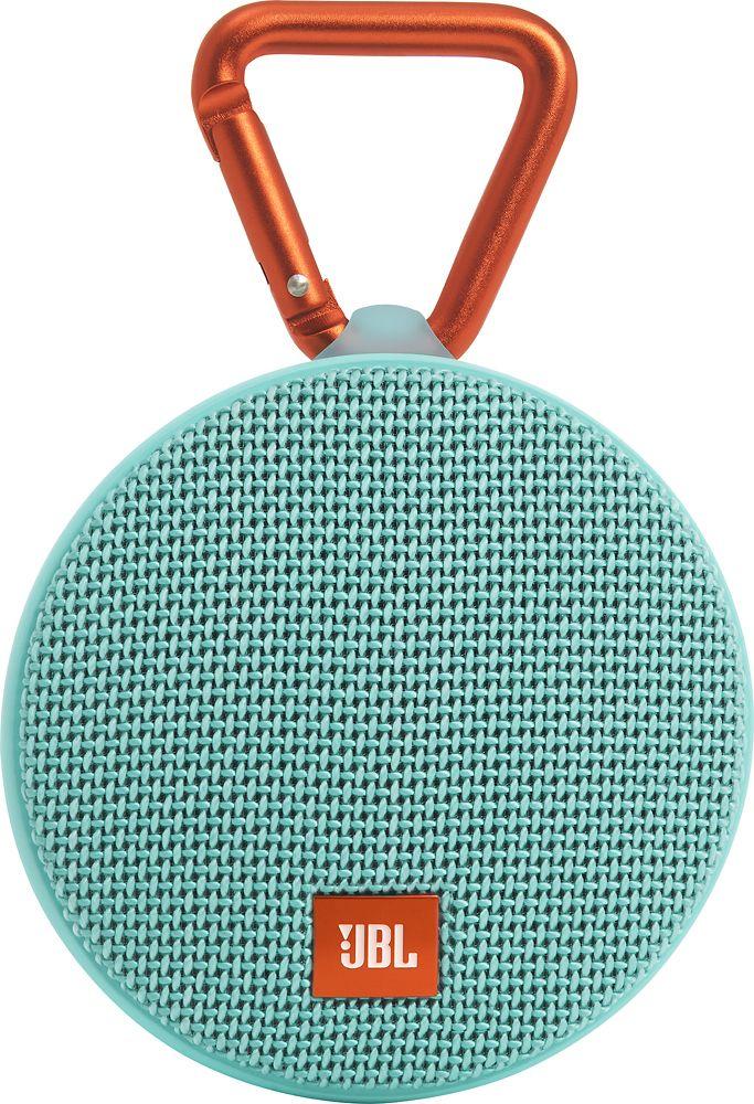 Best Buy Jbl Clip 2 Portable Bluetooth Speaker Teal Jblclip2telam Bluetooth Speakers Portable Jbl Bluetooth Speaker