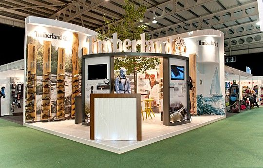 Exhibition Booth Outdoor : Timberland outdoor trade show exhibits pinterest
