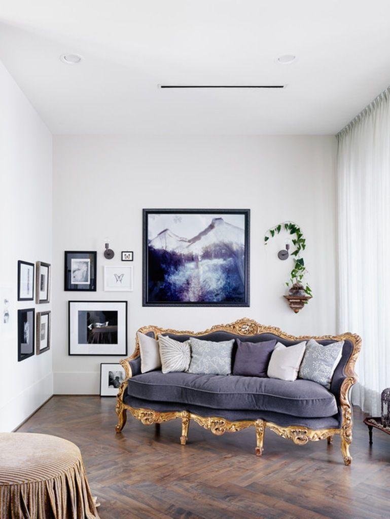 25 Eclectic Living Room Design Ideas | Living rooms, Elegant sofa ...