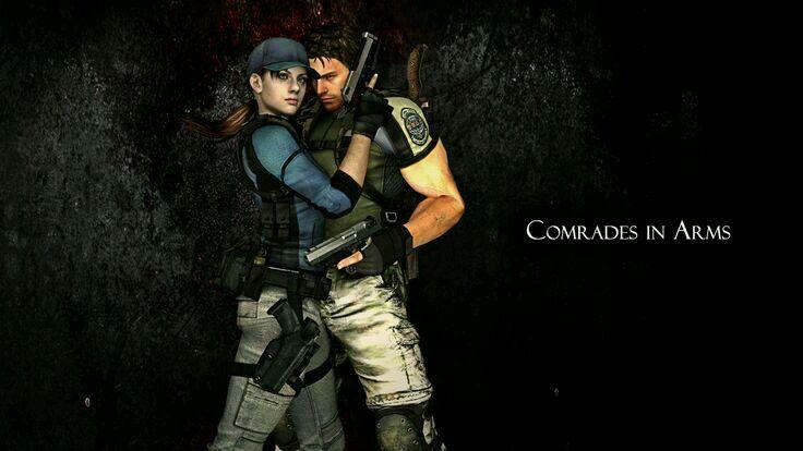 Commander In Arms Jill Valentine Resident Evil Resident Evil 5