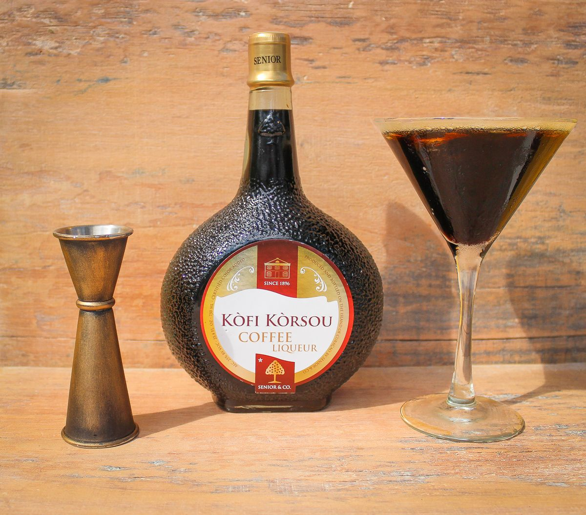 Cocktails with coffee liqueur liqueur rum raisin soy
