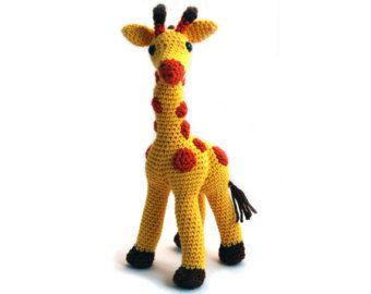 Amigurumi Haken Patroon Giraffe Amigurumi Door Lovelybabygift