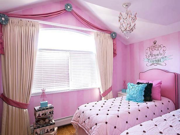 Kids Bedroom Window Treatments girls curtains and window treatments | whimsical window treatments