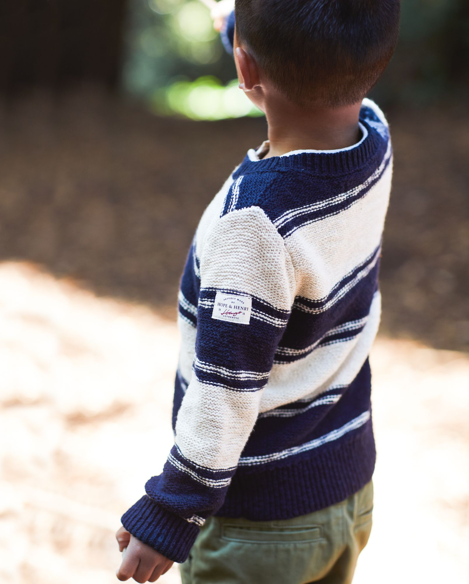 Hope /& Henry Boys Lined Pull-on Cargo Pants