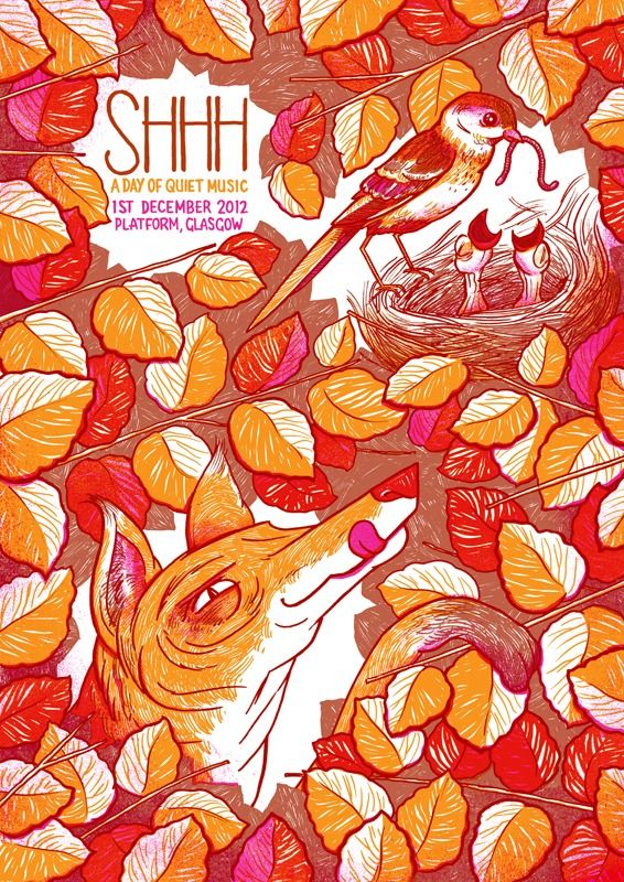 illustrated gig posters - Google Search