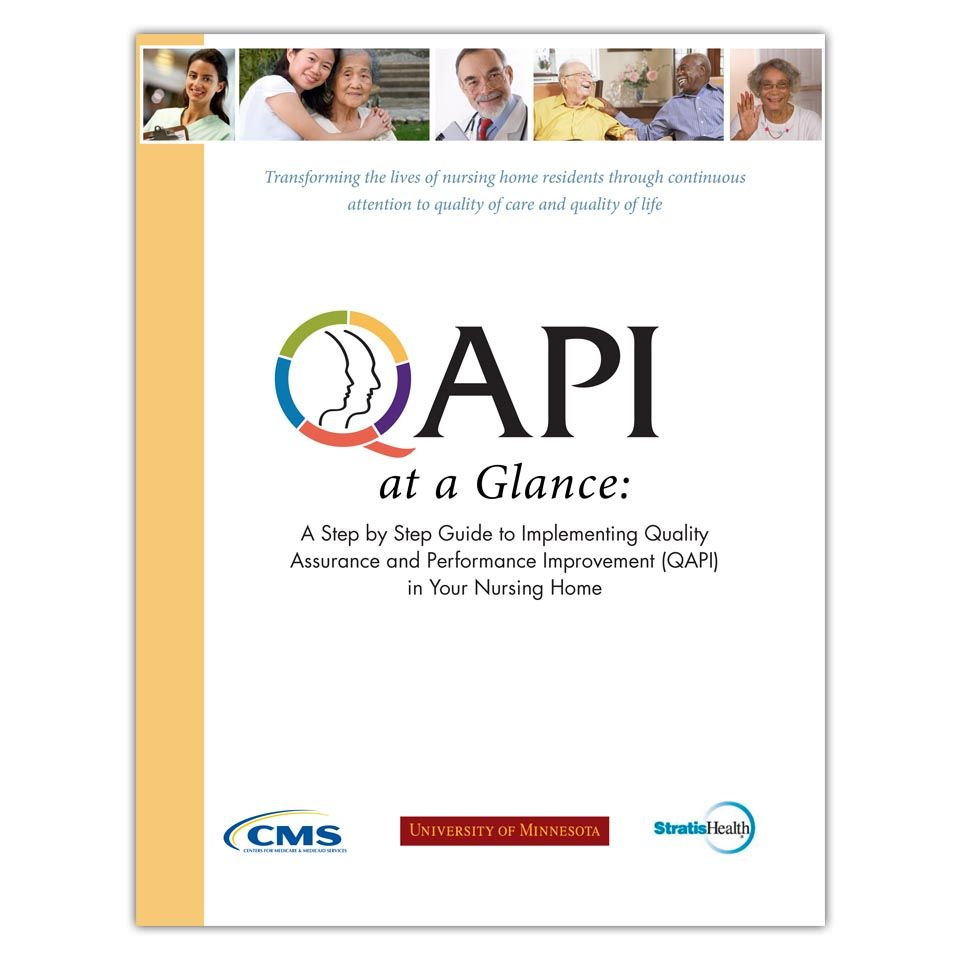 QAPI at a Glance QAPI Pinterest