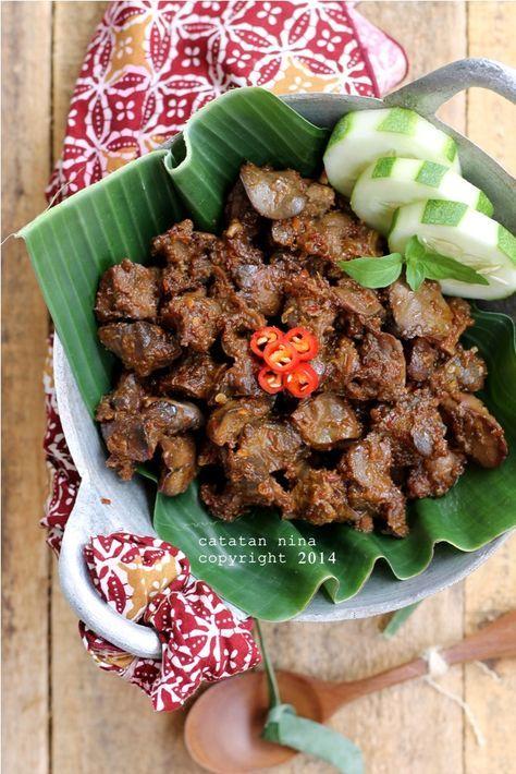 Catatan Nina Gongso Ati Ampela Resep Makanan Bayi Resep Masakan Resep Masakan Indonesia