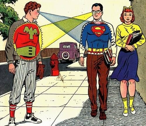 what guys do with x-ray vision in 2019 | Vintage comics ...
