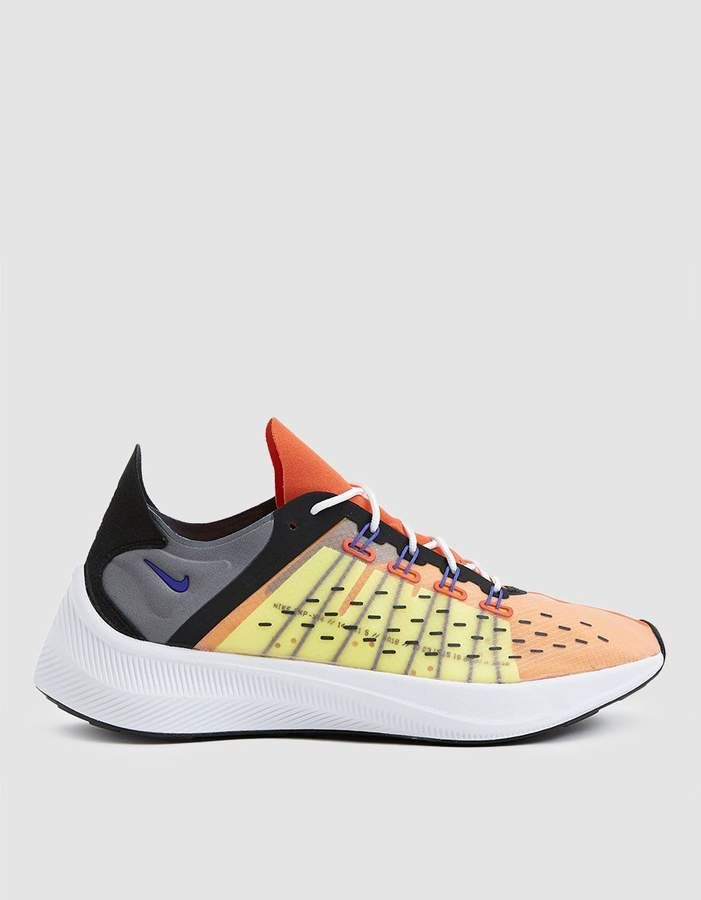 watch 6b051 5010d Nike EXP-X14 Sneaker in Team OrangePersian Violet-Volt-Black