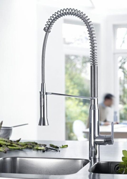 Grohe kitchen faucets are designed to deliver unbeatable performance all day long