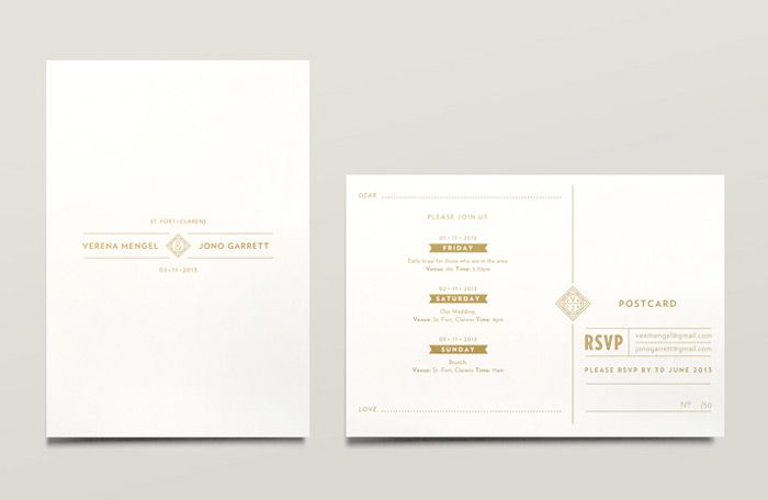 Jono garrett wedding materials on design work life invitations jono garrett wedding materials on design work life stopboris Choice Image
