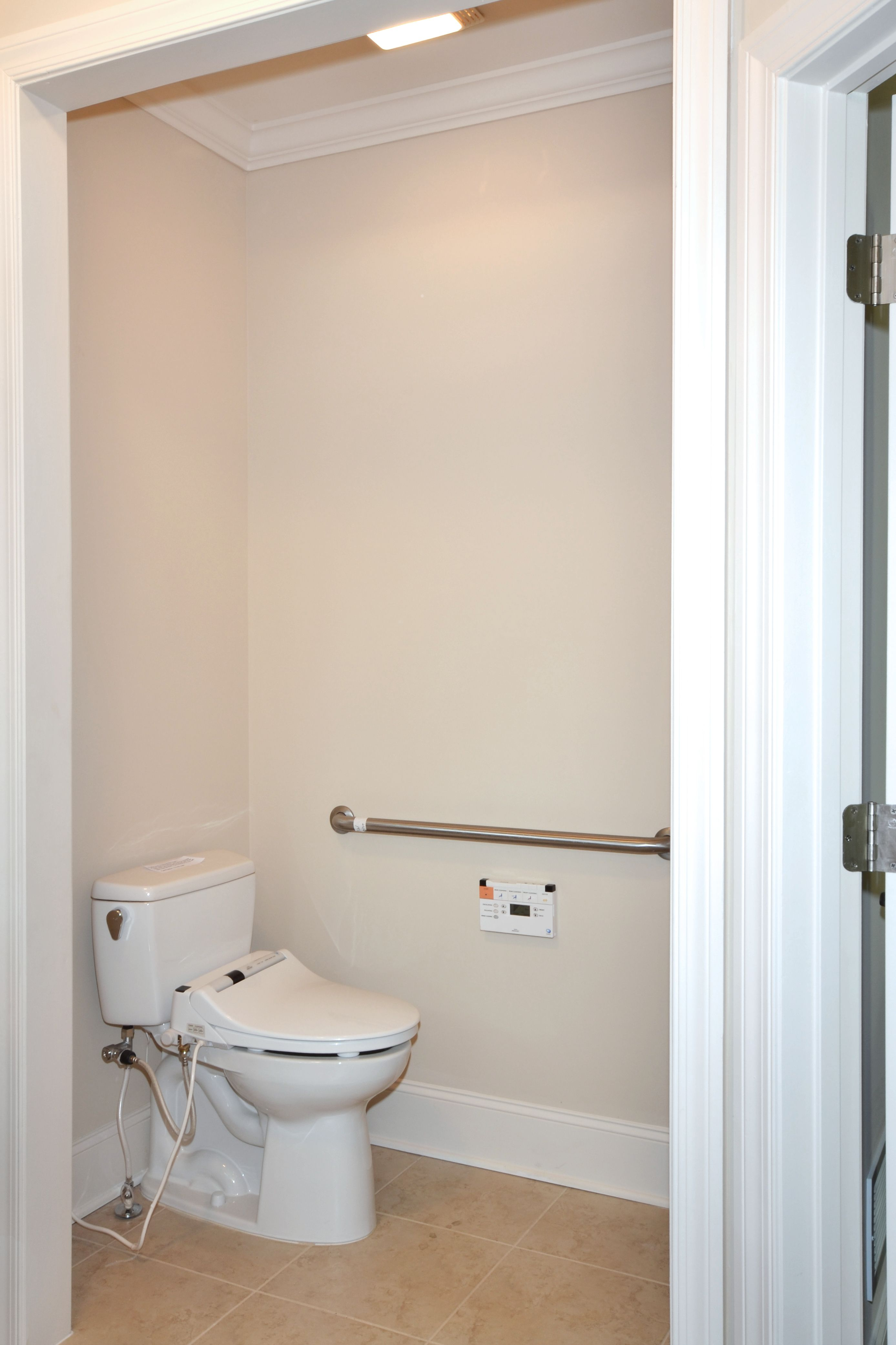 ADA XLg Water Closet www.windsonglife.com | Bathroom Ideas | Pinterest